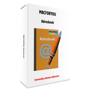 Macforyou Adresboek